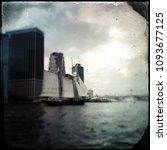 vintage tintype filter of an... | Shutterstock . vector #1093677125