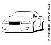 car tuning loo design vector...   Shutterstock .eps vector #1093693625