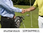 image of golfer and caddy... | Shutterstock . vector #1093699811