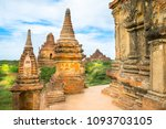 beautiful view of buddhist... | Shutterstock . vector #1093703105