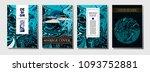 modern business cover template. ... | Shutterstock .eps vector #1093752881