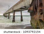 Under Pacifica Municipal Pier....
