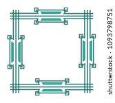 art deco frame elegant... | Shutterstock .eps vector #1093798751