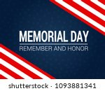 memorial day   memorial day is... | Shutterstock .eps vector #1093881341