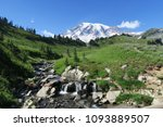 mount rainier    washington... | Shutterstock . vector #1093889507