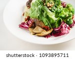 salad with mushrooms | Shutterstock . vector #1093895711