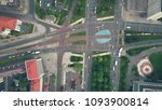 aerial top down view of traffic ... | Shutterstock . vector #1093900814