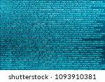 programming code. hacker api... | Shutterstock . vector #1093910381