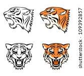 simple line illustrations of...   Shutterstock .eps vector #109392857