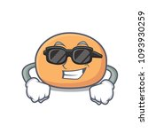 super cool mochi character... | Shutterstock .eps vector #1093930259