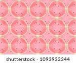 double exposure of slices of...   Shutterstock . vector #1093932344