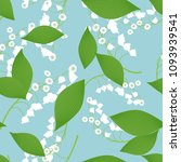 seamless pattern with vector... | Shutterstock .eps vector #1093939541