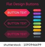 flat design button