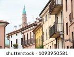 bottom perspective of the...   Shutterstock . vector #1093950581