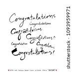 anniversary greeting  ... | Shutterstock .eps vector #1093959971
