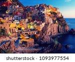 picture of manarola la spezia ... | Shutterstock . vector #1093977554