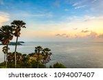 sunset at promthep cape  one of ... | Shutterstock . vector #1094007407
