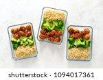 asian style teriyaki sauce... | Shutterstock . vector #1094017361