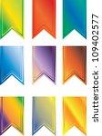 a set of multi colored pendant... | Shutterstock . vector #109402577