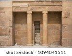 shot of an old entrance between ...   Shutterstock . vector #1094041511
