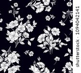 seamless floral pattern in... | Shutterstock .eps vector #1094042141