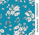 seamless floral pattern in... | Shutterstock .eps vector #1094042147