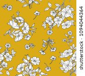 seamless floral pattern in... | Shutterstock .eps vector #1094044364