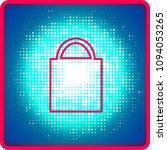 flat icon. shopping bag. | Shutterstock .eps vector #1094053265
