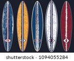 sea surfing pattern with... | Shutterstock .eps vector #1094055284