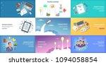 business banner set template.... | Shutterstock . vector #1094058854