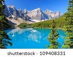Lake Moraine  Ab  Canada