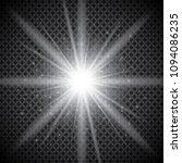 glowing lights effect  flare ... | Shutterstock .eps vector #1094086235