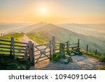 sunrise on the great ridge in... | Shutterstock . vector #1094091044