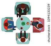 people business meeting... | Shutterstock .eps vector #1094133239