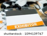 tag name exhibitor position  | Shutterstock . vector #1094139767