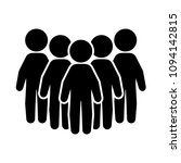 people group or crowd icon.... | Shutterstock .eps vector #1094142815