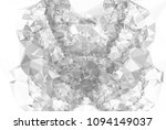 monochrome abstract triangle... | Shutterstock .eps vector #1094149037