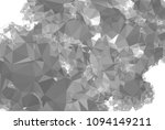 monochrome abstract triangle... | Shutterstock .eps vector #1094149211