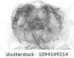 monochrome abstract triangle... | Shutterstock .eps vector #1094149214