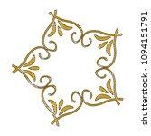 beauty scroll antique ornament...   Shutterstock .eps vector #1094151791