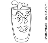 coloring page. coloring book.... | Shutterstock .eps vector #1094157974