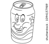 coloring page. coloring book....   Shutterstock .eps vector #1094157989