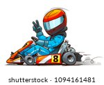 shifter kart racer cartoon... | Shutterstock .eps vector #1094161481