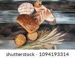 variety of breads | Shutterstock . vector #1094193314
