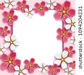 beautiful trendy romantic... | Shutterstock . vector #1094204231