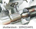 milling metalworking process.... | Shutterstock . vector #1094214491