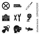 junior classes icons set.... | Shutterstock . vector #1094229209