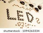 leds 3 watts fullspectrum | Shutterstock . vector #1094263334