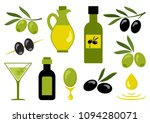 olive set. vector illustration | Shutterstock .eps vector #1094280071