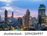 bangkok city   aerial view ... | Shutterstock . vector #1094284997